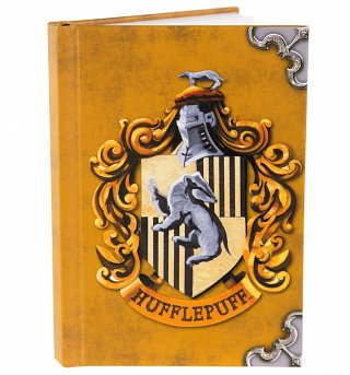 Harry Potter Hufflepuff Crest A6 Notebook