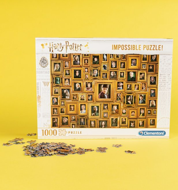 Harry Potter Impossible 1000 Piece Jigsaw Puzzle