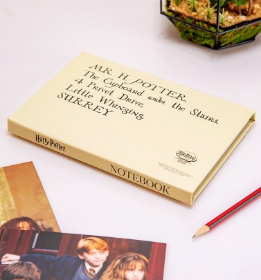 Harry Potter Letter Envelope Notebook