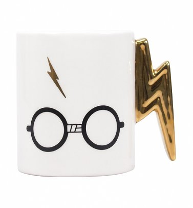 Harry Potter Lightning Bolt Handle Mug