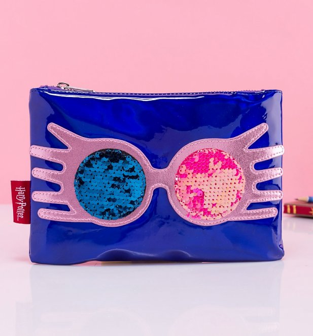 Harry Potter Luna Lovegood As Sane As I Am Sequin Pouch