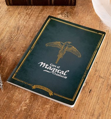 Harry Potter Magical Creatures A4 Notebook