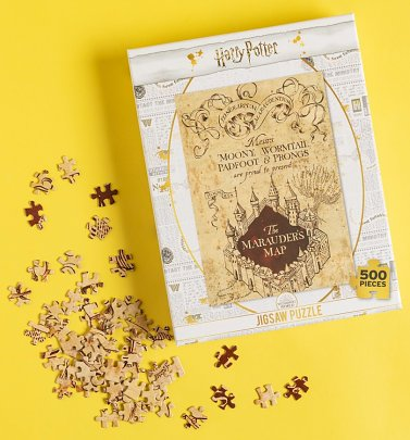 Harry Potter Marauders Map 500 Piece Jigsaw Puzzle