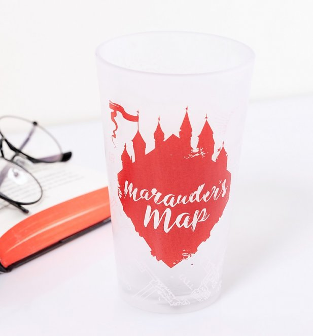 Harry Potter Marauders Map Heat Change Glass