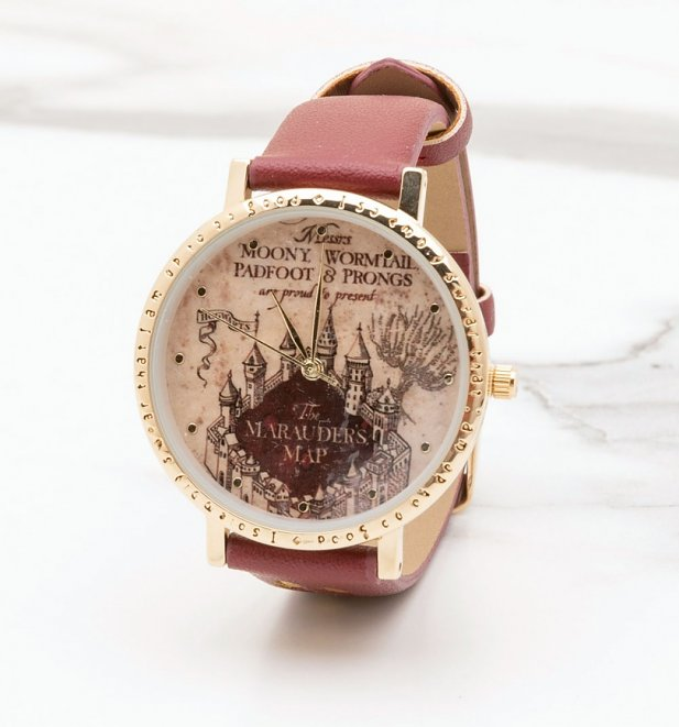 Harry Potter Marauders Map Watch