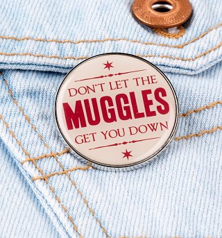 Harry Potter Muggles Enamel Pin Badge