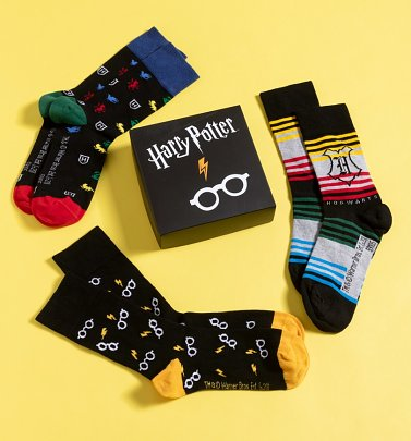 Harry Potter Pack of Three Socks in Gift Box