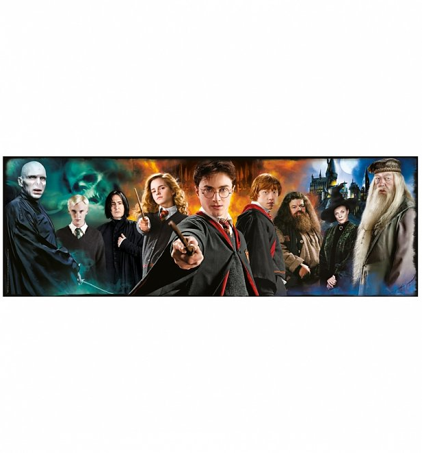 Harry Potter Panorama 1000 Piece Jigsaw Puzzle