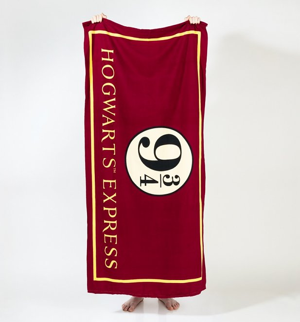 Harry Potter Platform 9 3/4 Beach Towel