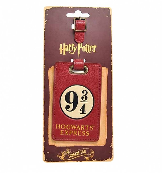 Harry Potter Platform 9 and 3/4 Luggage Tag