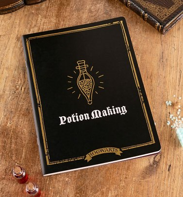Harry Potter Potion Making A4 Notebook