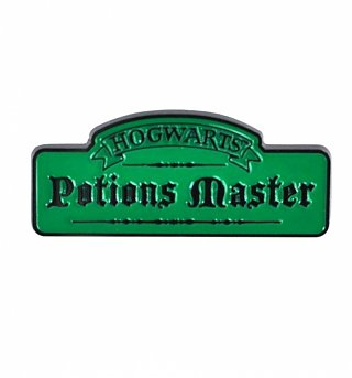 Harry Potter Potions Master Enamel Pin Badge