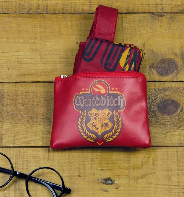 Harry Potter Quidditch Foldaway Shopping Bag