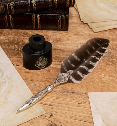 Harry Potter Quill Pen and Ink Pot Holder