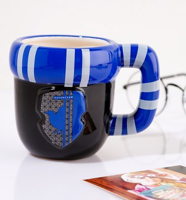Harry Potter Ravenclaw Shaped Scarf Mug
