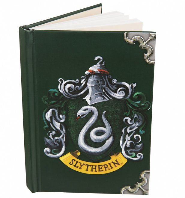 Harry Potter Slytherin Crest A6 Notebook