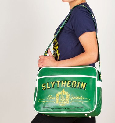 Harry Potter Slytherin Retro Messenger Bag