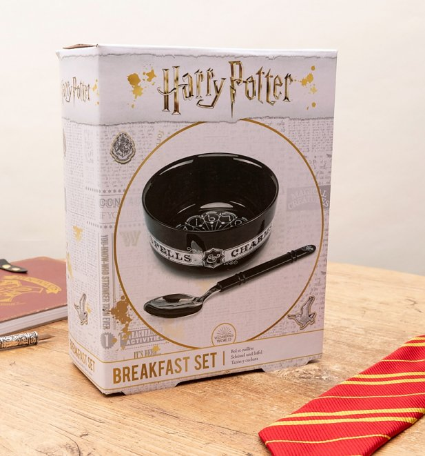 Harry Potter Spell Bowl and Spoon Set