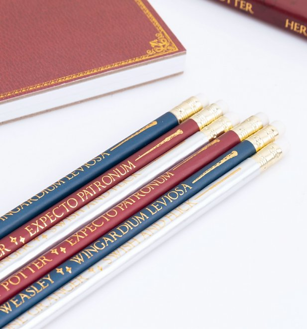 Harry Potter Spells Pencil Set