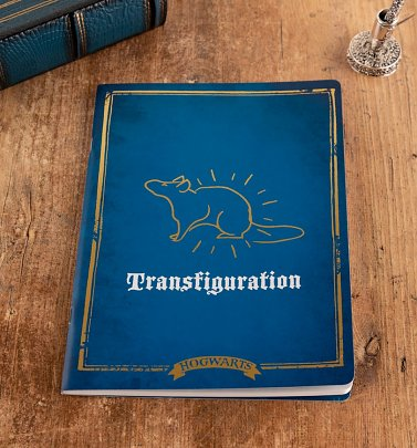 Harry Potter Transfiguration A4 Notebook