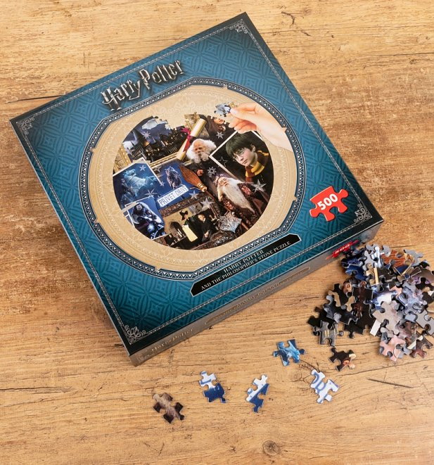 Harry Potter and the Philosopher's Stone 500 Piece Round Jigsaw Puzzle