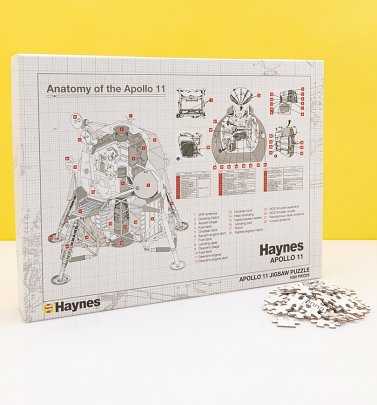 Haynes Anatomy of Apollo 11 1000 Piece Jigsaw Puzzle