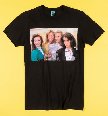 Heathers Scene Black T-Shirt