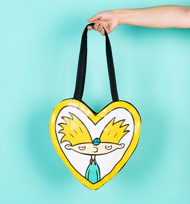 Hey Arnold Heart Shaped Tote from Cakeworthy