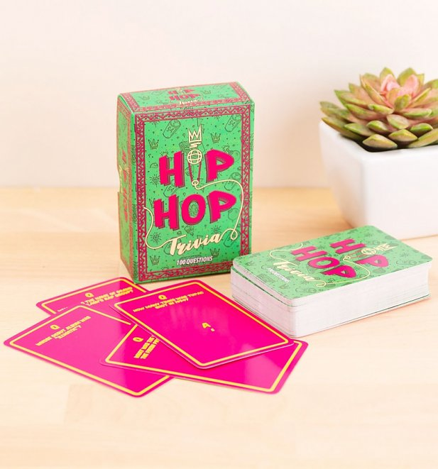 Hip Hop Trivia Cards