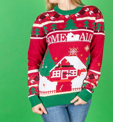 Home Alone Christmas Knitted Christmas Jumper from Difuzed