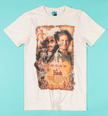 Hook Movie Poster Ecru T-Shirt