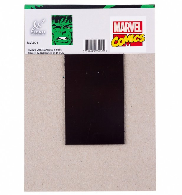 Hulk Face Magnetic Notepad