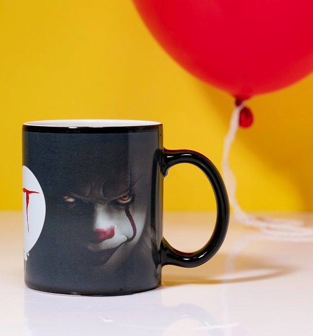 IT Pennywise Balloon Heat Change Mug