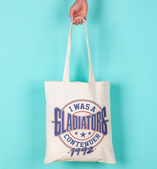 I Was A Gladiators Contender Tote Bag