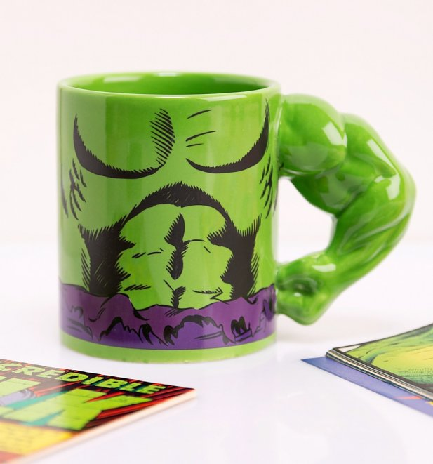 Incredible Hulk Arm Meta Merch Mug