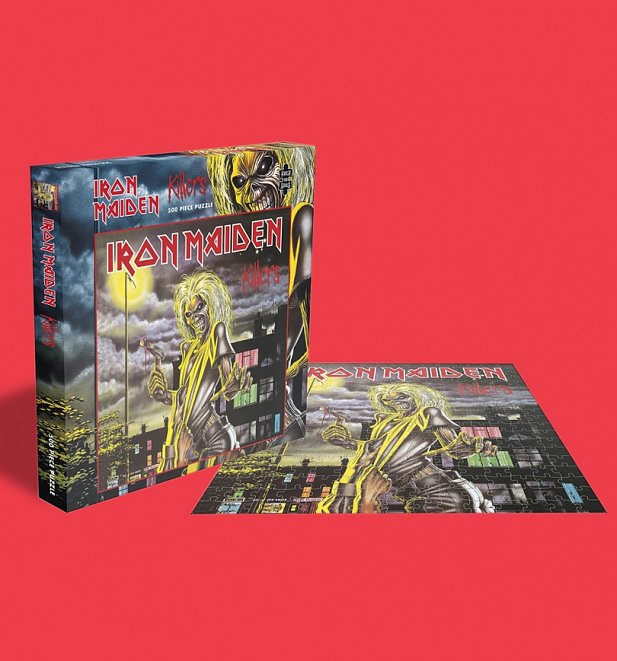 Iron Maiden Killers 500 Piece Jigsaw Puzzle from Rock Saws