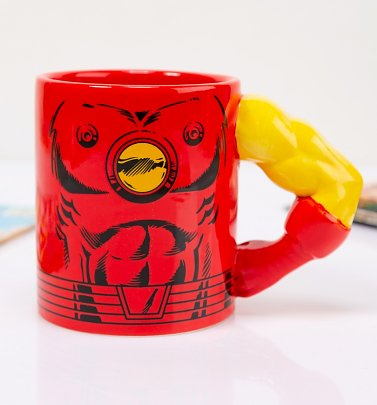 Iron Man Arm Meta Merch Mug