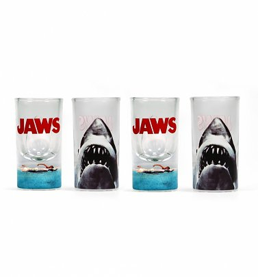 Jaws Set of Four Shot Glasses