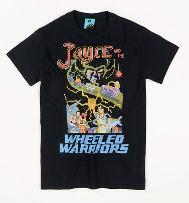 Jayce And The Wheeled Warriors Black T-Shirt