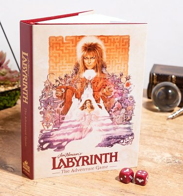 Jim Henson's Labyrinth The Adventure Game Book from Riverhorse
