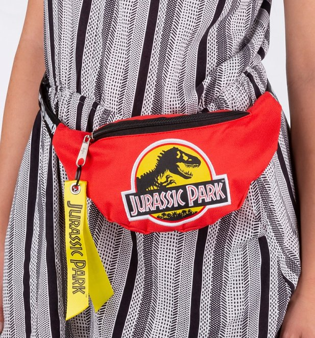 Jurassic Park Red Bumbag from Hype