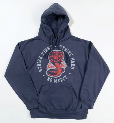 Karate Kid Strike First Strike Hard Petrol Hoodie