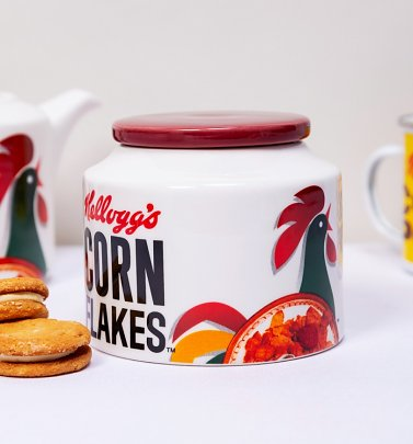 Kellogg's Corn Flakes Biscuit Barrel