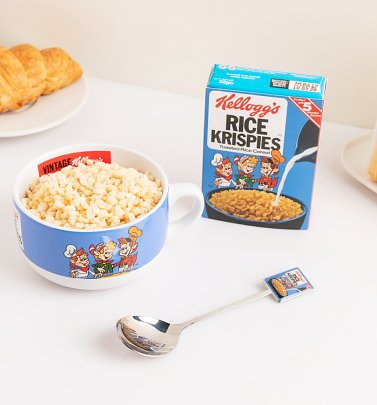 Kellogg's Rice Krispies Bowl Mug & Spoon Set