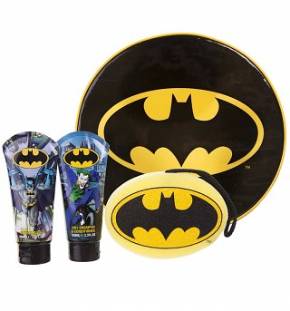 Kids Batman Toiletries Backpack Gift Set