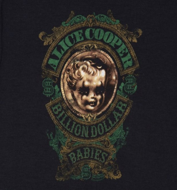 Kids Billion Dollar Babies Alice Cooper Babygrow