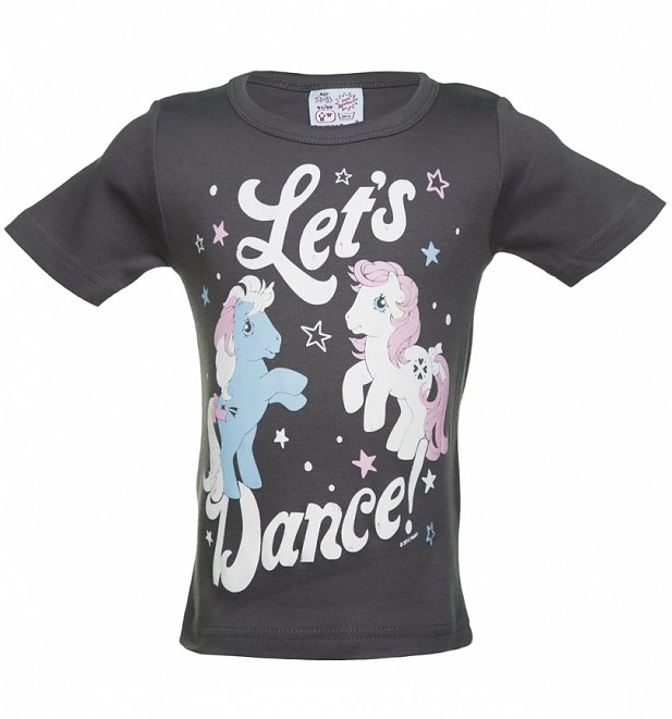 Kids Charcoal My Little Pony Let's Dance T-Shirt