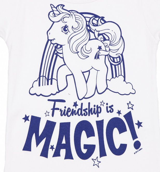 Kids Off White My Little Pony Friendship Is Magic T-Shirt