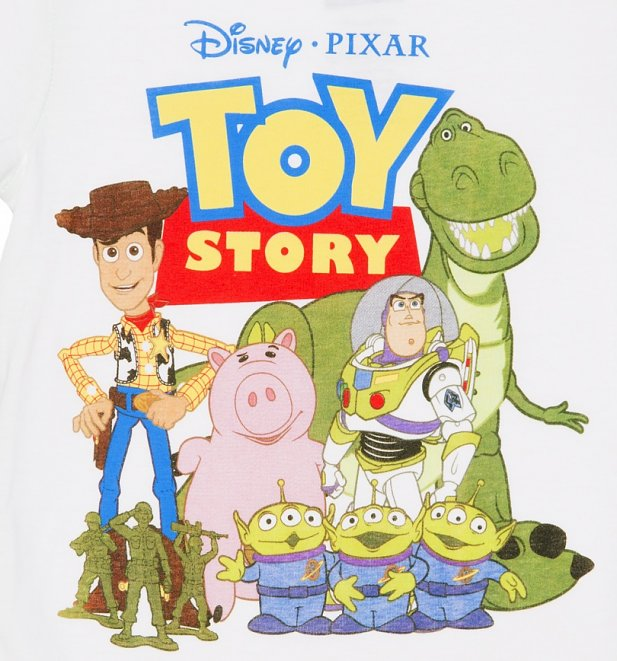 Disney Toy Story 4 Andy : Kids white disney pixar toy story andy s toys t shirt