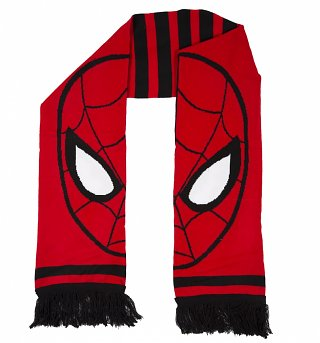 Knitted Red Marvel Comics Spider-Man Scarf
